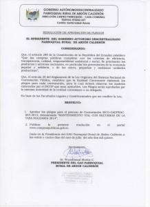 aprobacion pliegos tasa solidaria 2014 jl