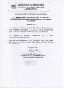inicio de proceso tasa solidaria 2014 jl